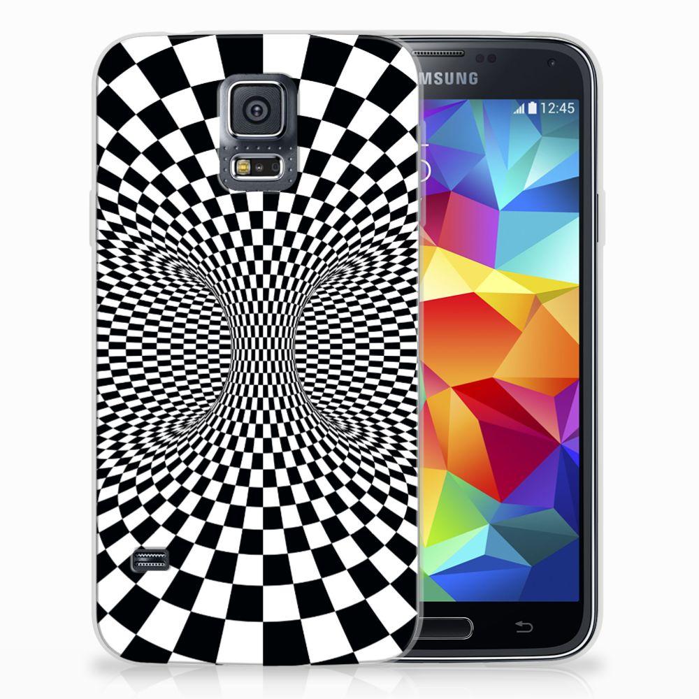 Samsung Galaxy S5 TPU Hoesje Illusie