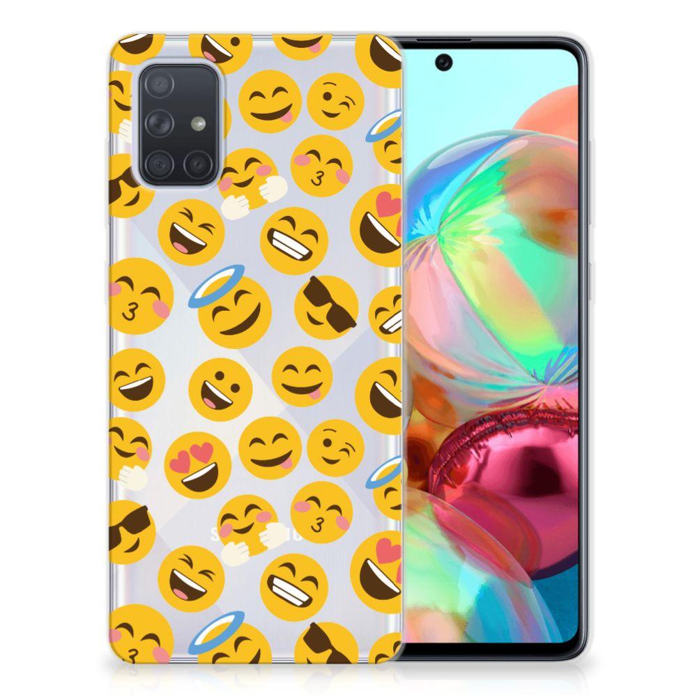 Samsung Galaxy A71 TPU bumper Emoji