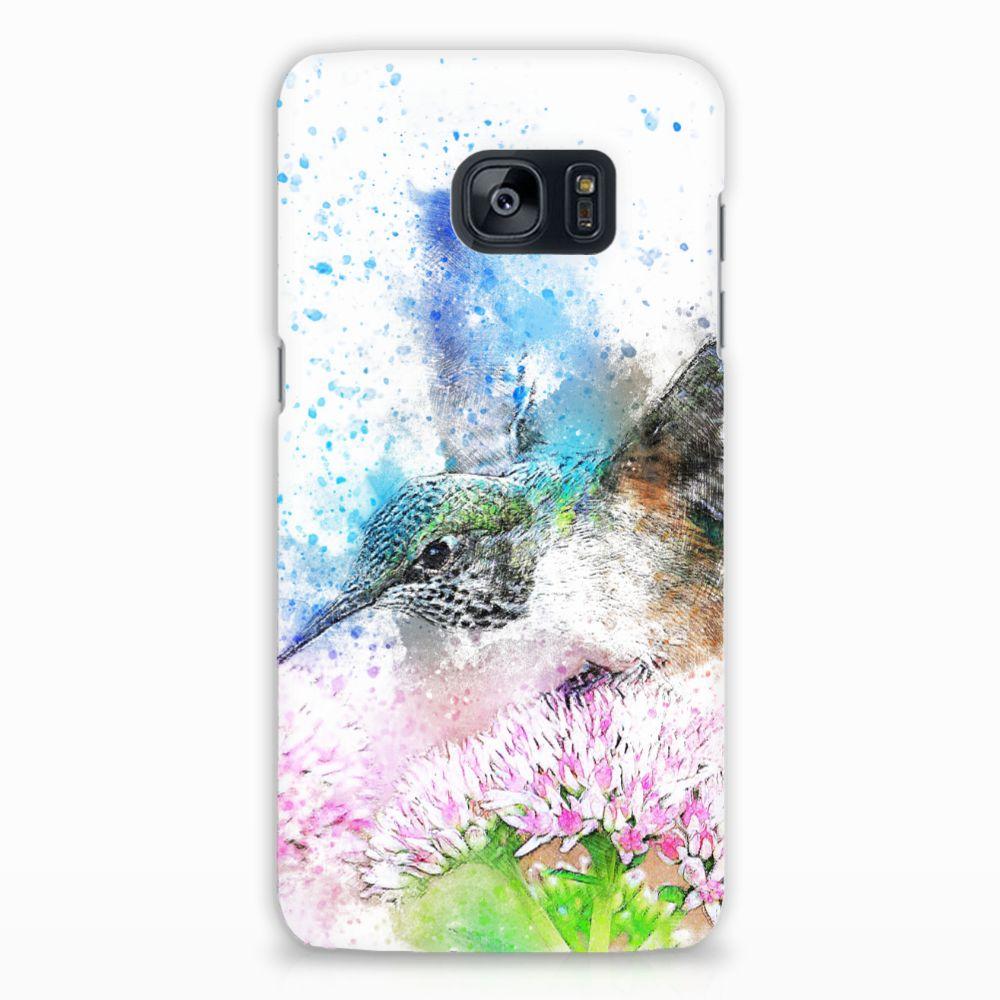 Samsung Galaxy S7 Edge Hardcase Hoesje Design Vogel