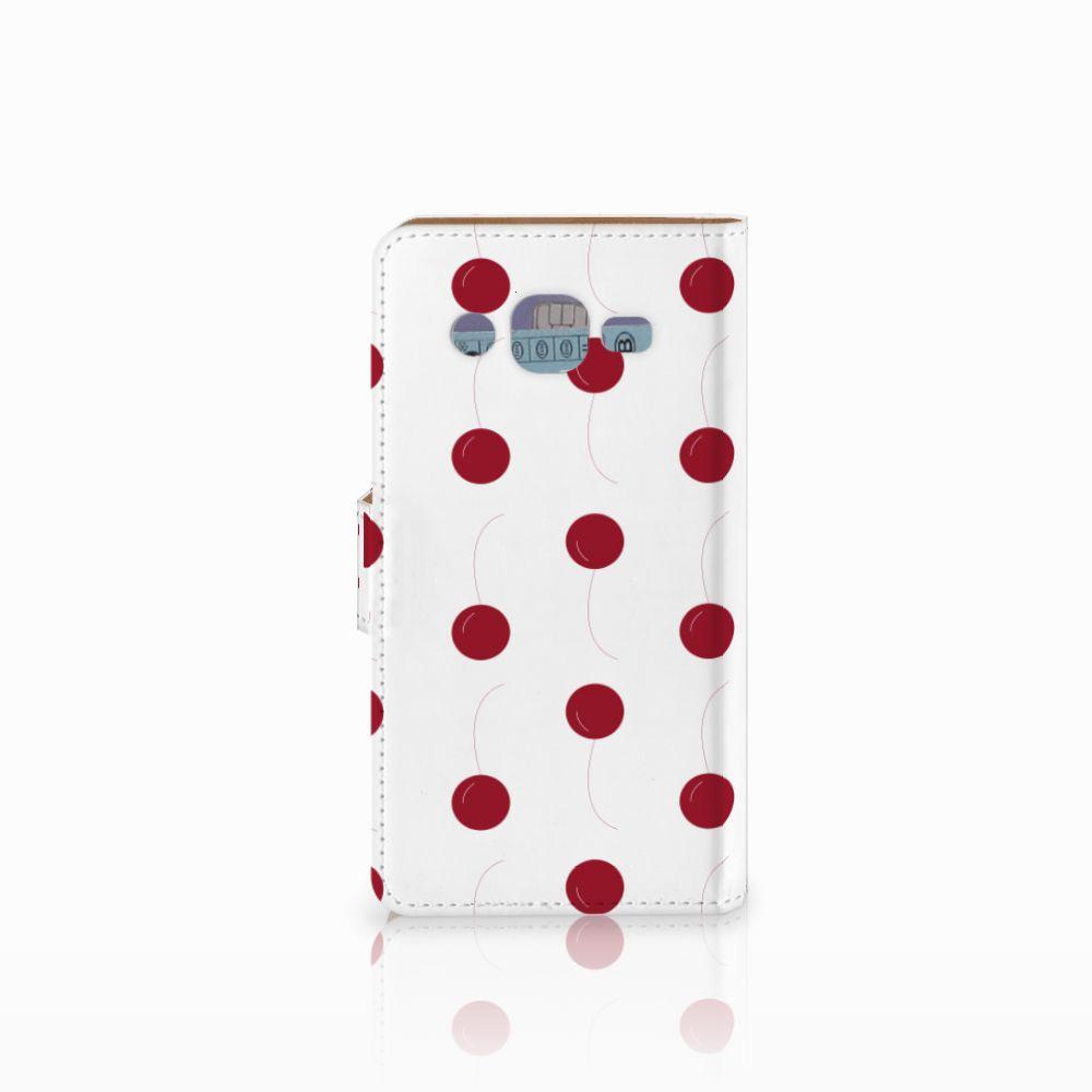Samsung Galaxy J2 (2015) Book Cover Cherries