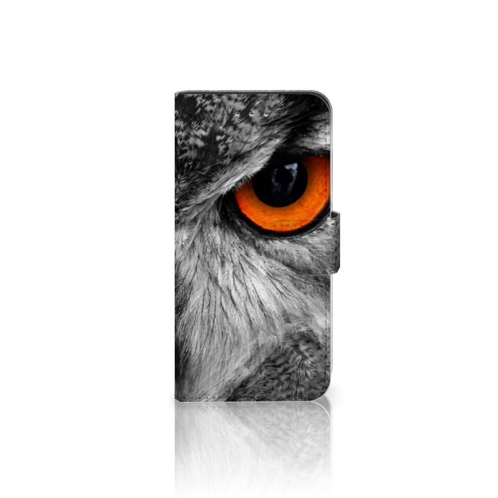 Samsung Galaxy S6   S6 Duos Boekhoesje Design Uil