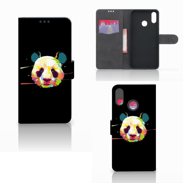 Huawei P Smart Plus Leuke Hoesje Panda Color