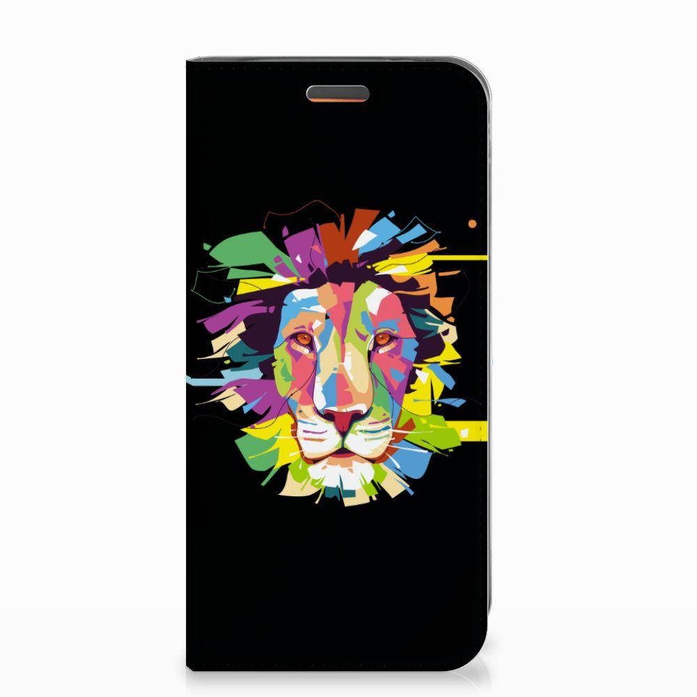 Motorola Moto E5 Play Magnet Case Lion Color
