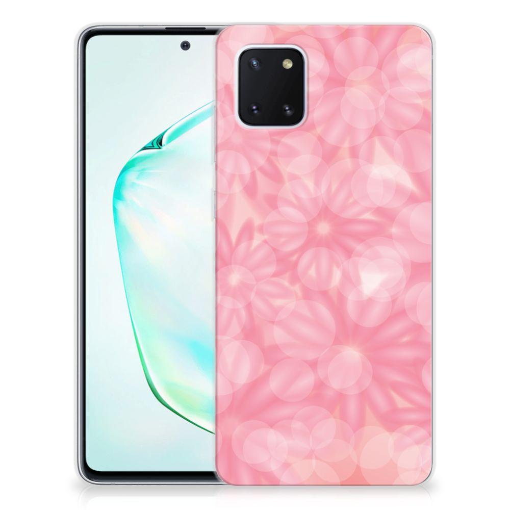Samsung Galaxy Note 10 Lite TPU Case Spring Flowers