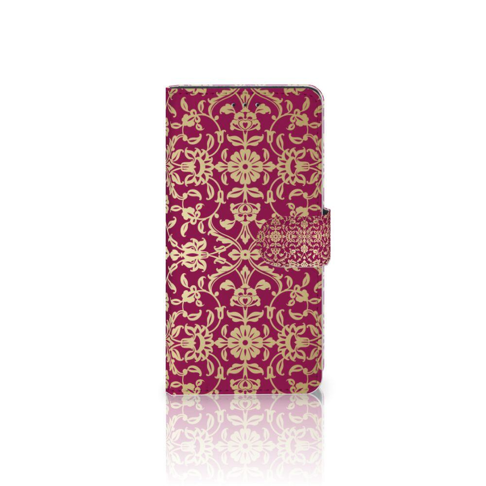Motorola Moto Z2 Play Boekhoesje Design Barok Pink