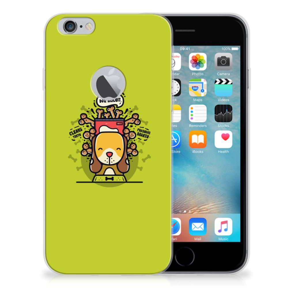 Apple iPhone 6 Plus | 6s Plus Telefoonhoesje met Naam Doggy Biscuit