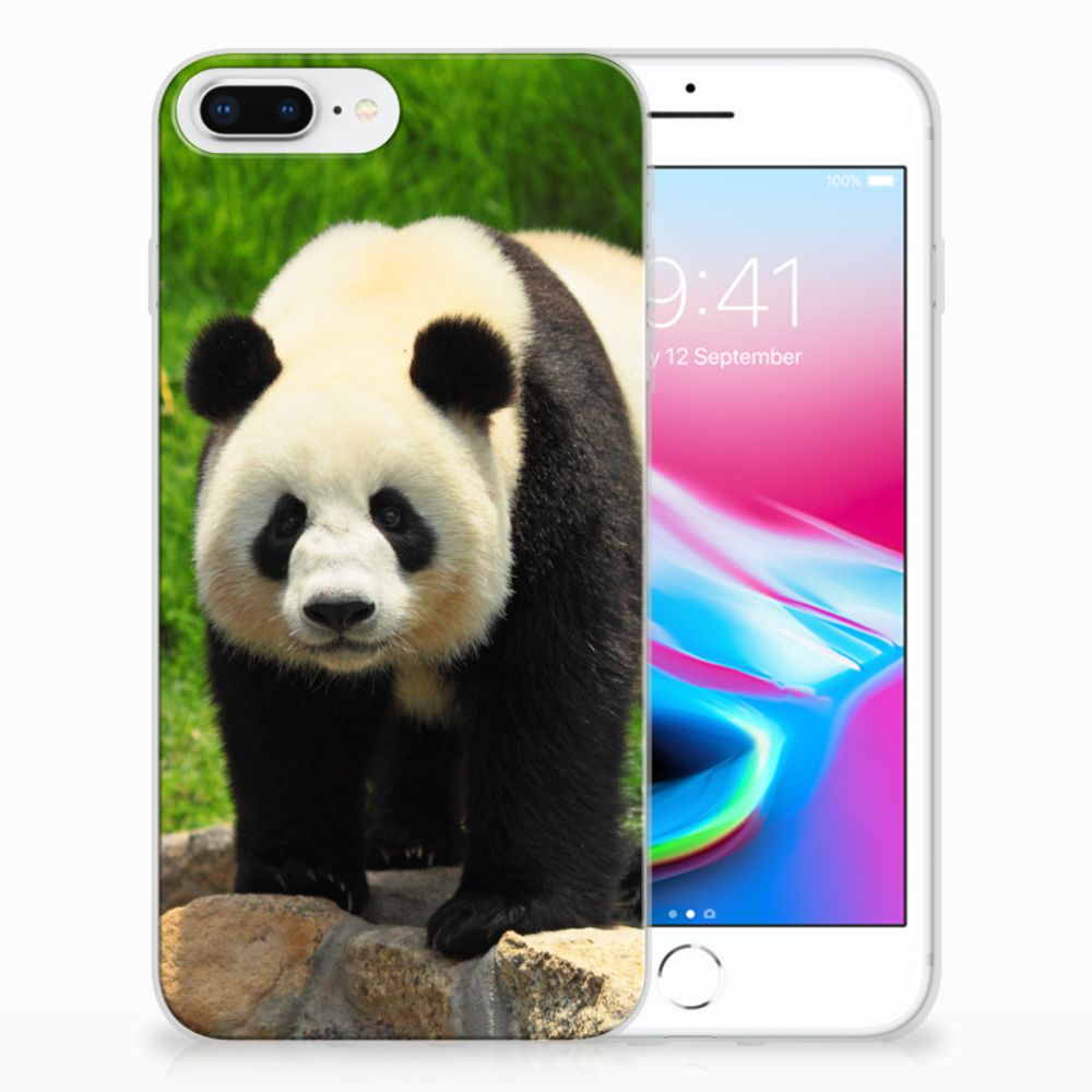 Apple iPhone 7 Plus | 8 Plus TPU Hoesje Design Panda