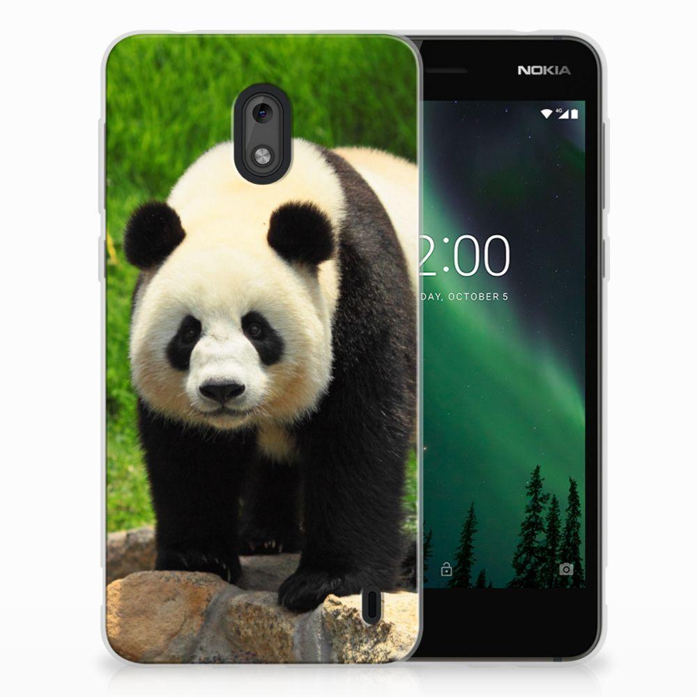Nokia 2 TPU Hoesje Design Panda