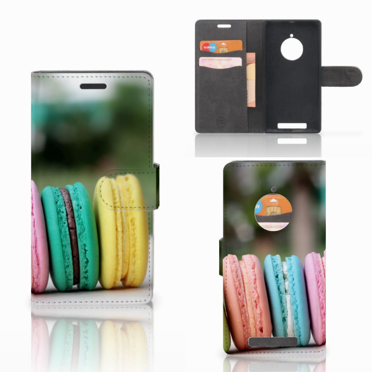 Nokia Lumia 830 Book Cover Macarons