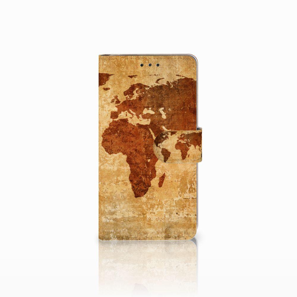 LG G4 Boekhoesje Design Wereldkaart