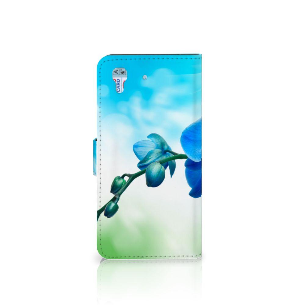 Honor 4A | Y6 Hoesje Orchidee Blauw