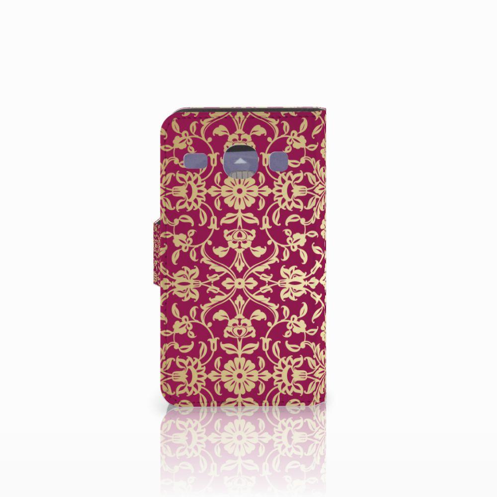 Wallet Case Samsung Galaxy Core i8260 Barok Pink