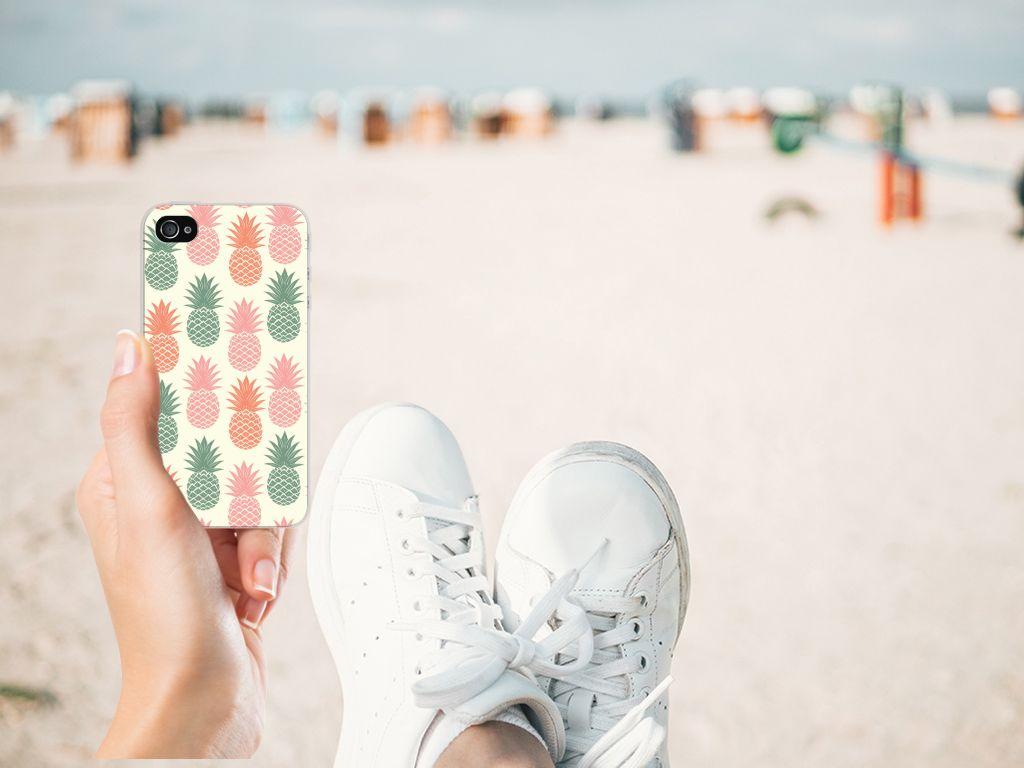 Apple iPhone 4 | 4s TPU Hoesje Design Ananas