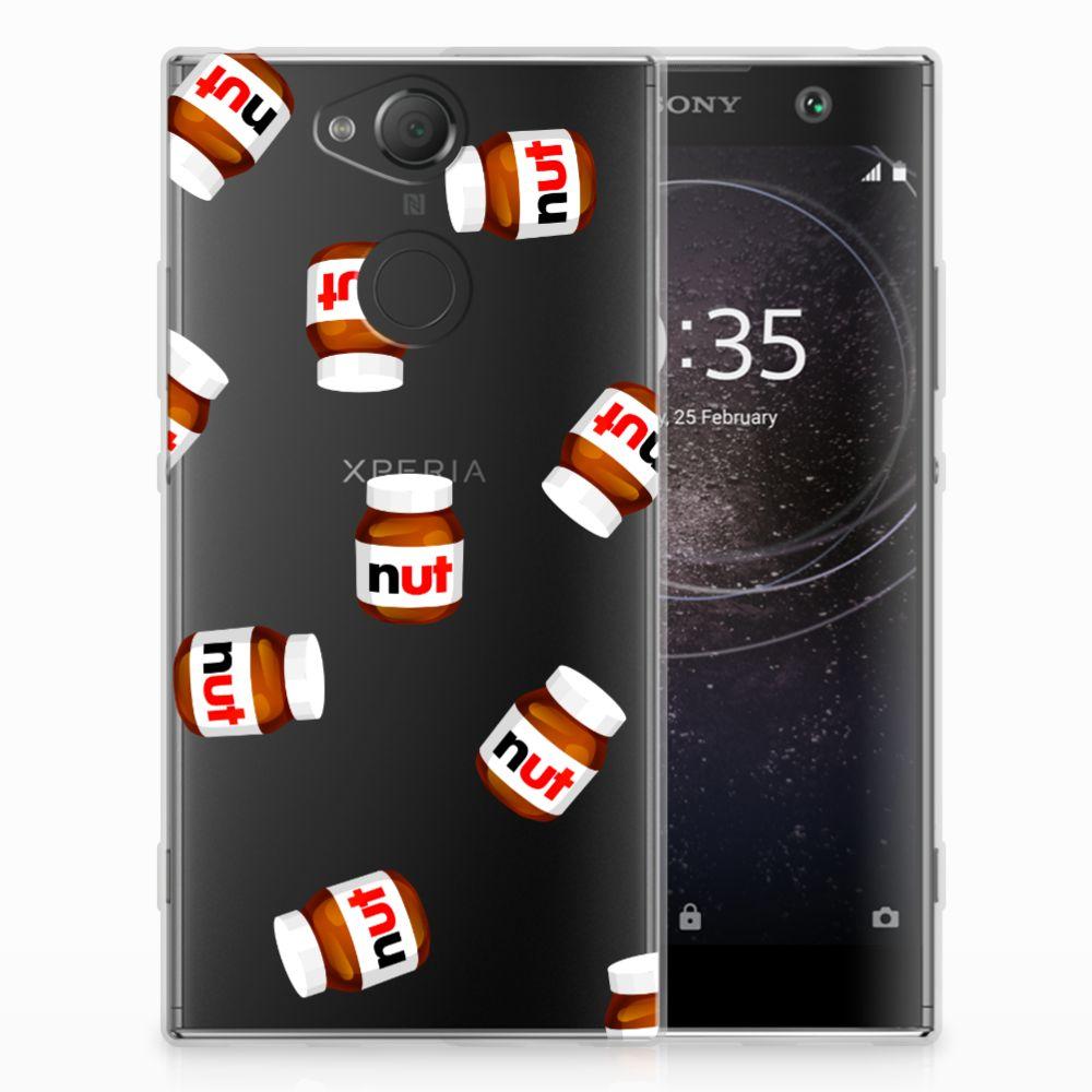 Sony Xperia XA2 Siliconen Case Nut Jar
