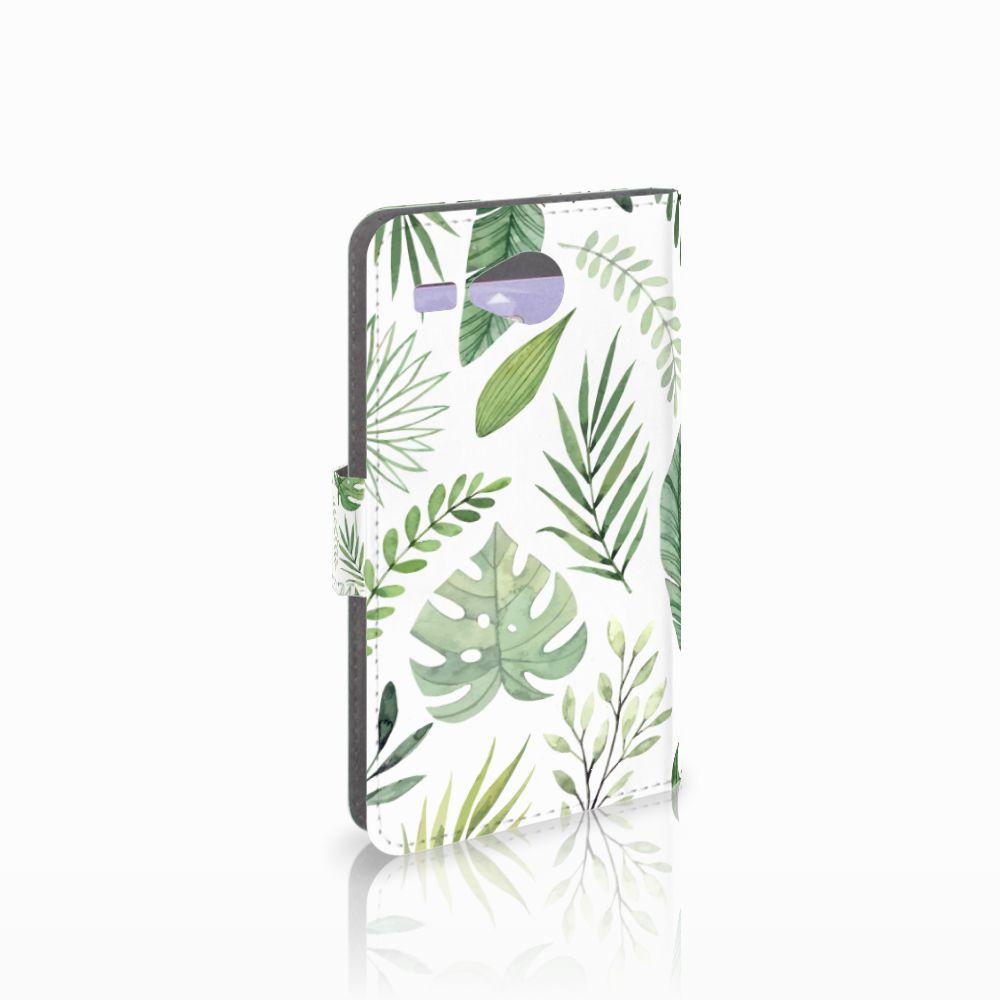 Acer Liquid Z520 Hoesje Leaves