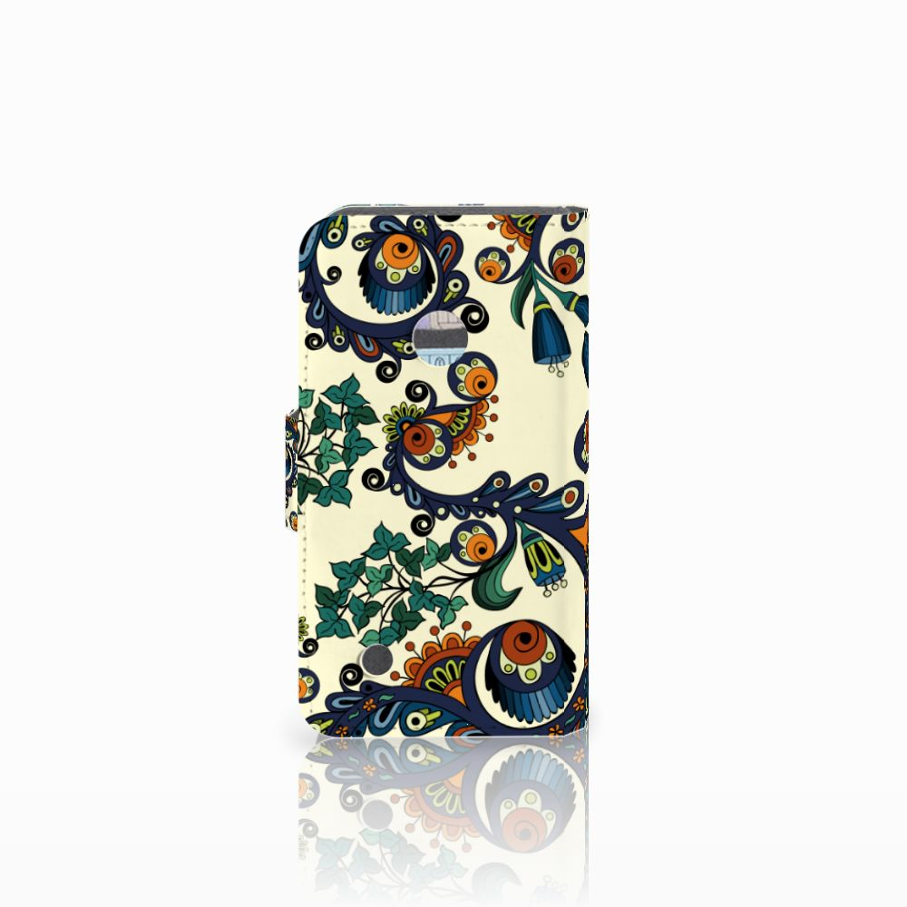 Wallet Case Nokia Lumia 530 Barok Flower