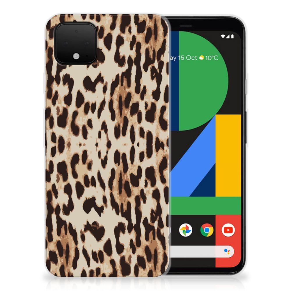 Google Pixel 4 XL TPU Hoesje Leopard