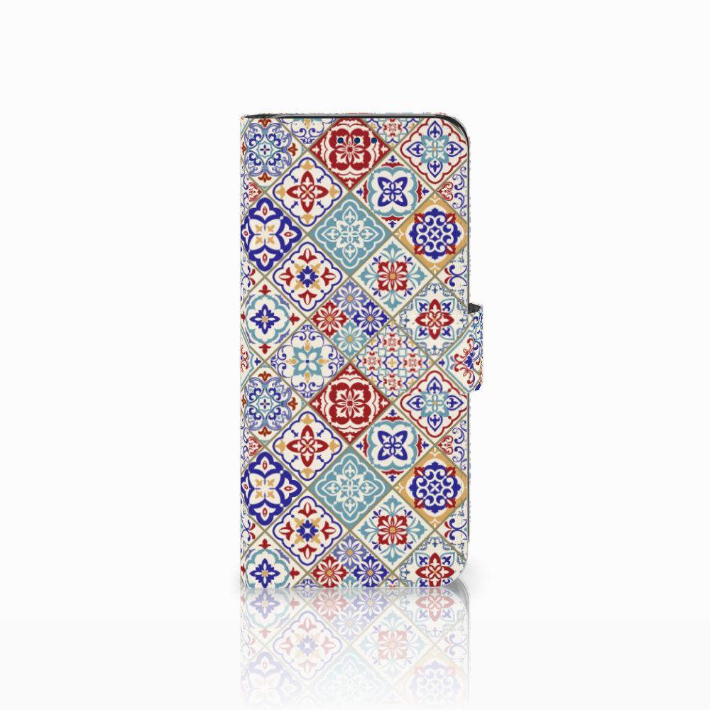 Samsung Galaxy S8 Uniek Boekhoesje Tiles Color