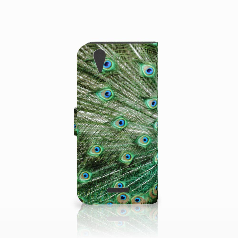 Acer Liquid Z630   Z630s Telefoonhoesje met Pasjes Pauw