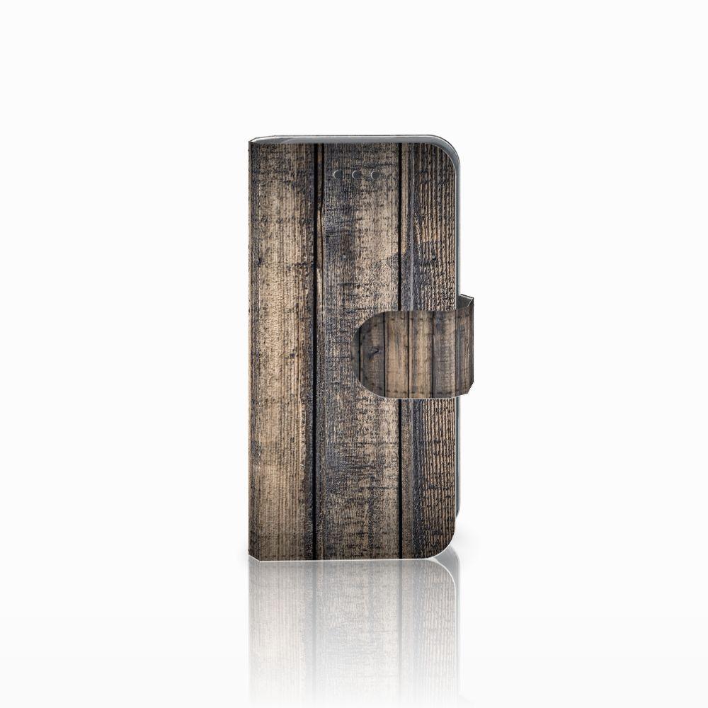 Apple iPod Touch 5 | 6 Boekhoesje Design Steigerhout