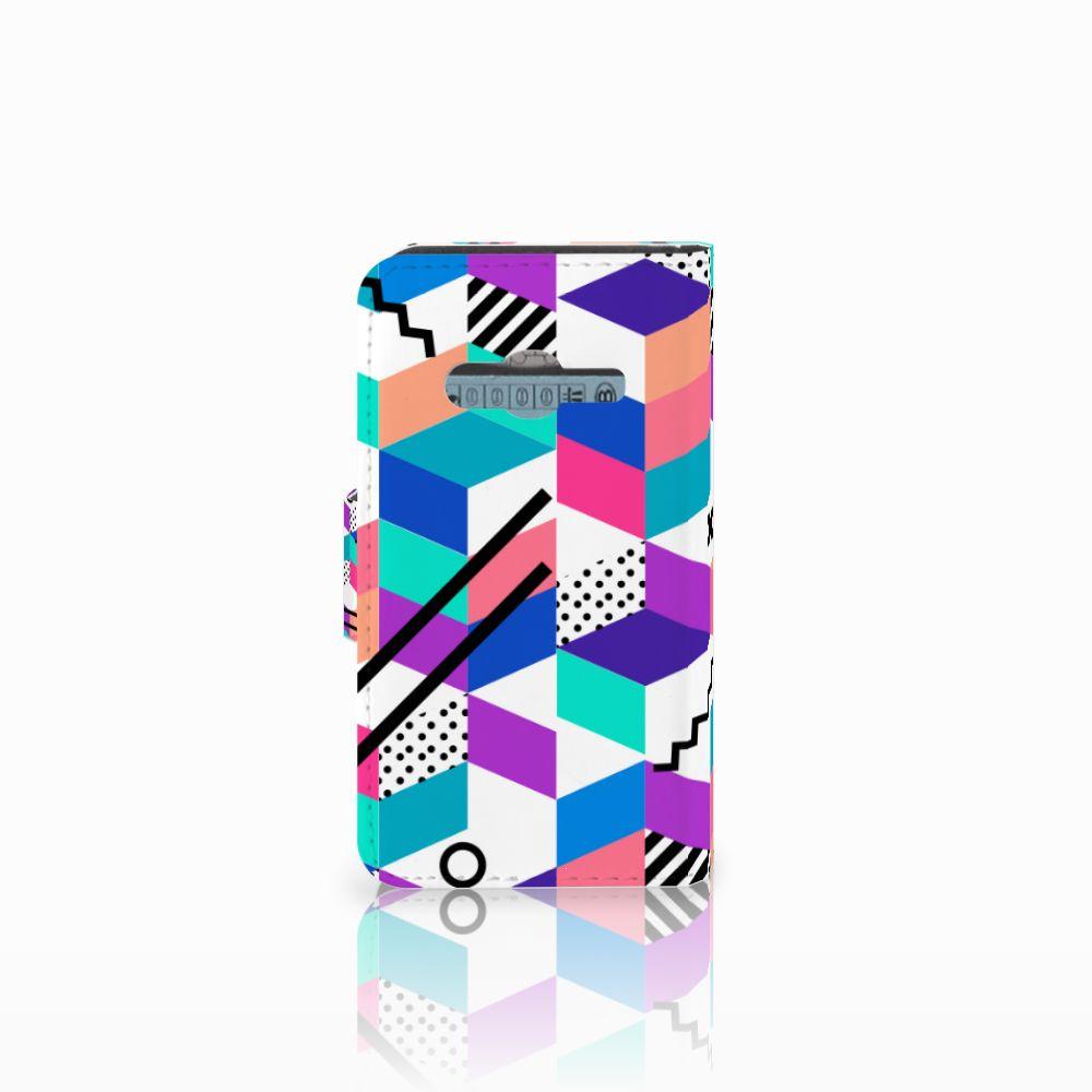 Samsung Galaxy Trend 2 Bookcase Blokken Kleurrijk