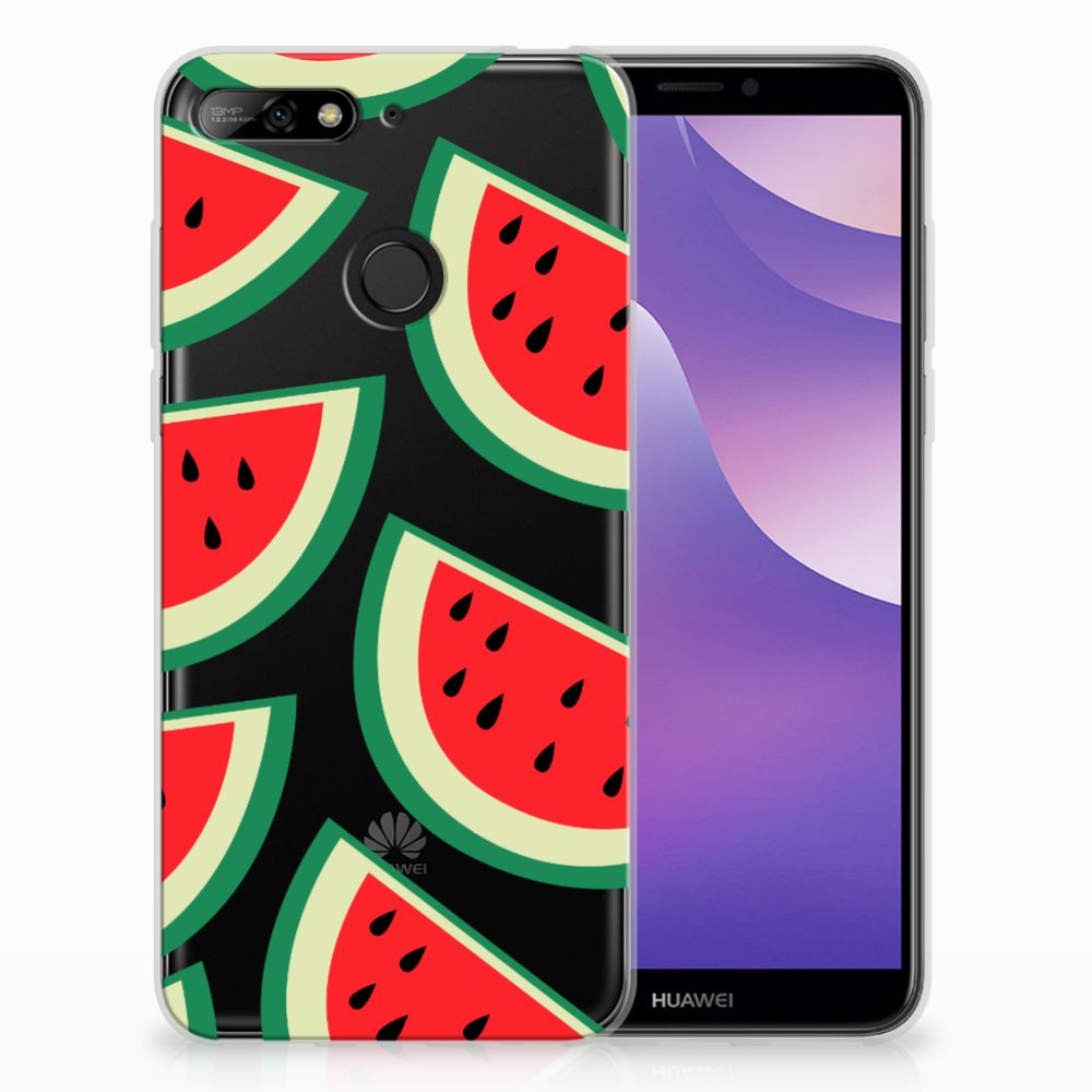 Huawei Y6 (2018) Siliconen Case Watermelons
