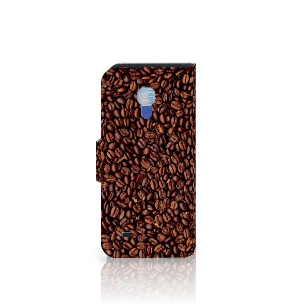 Samsung Galaxy S4 Mini i9190 Book Cover Koffiebonen