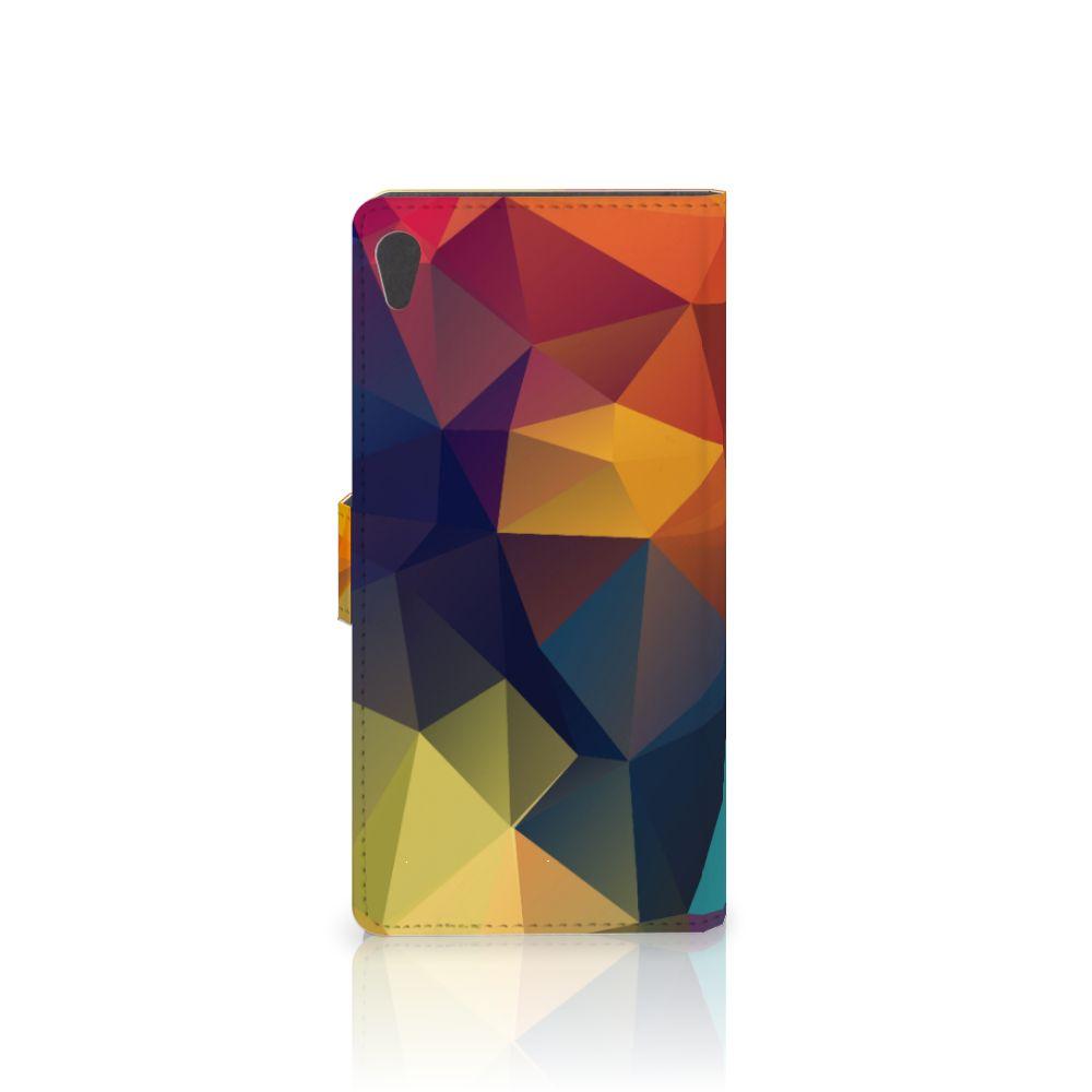 Sony Xperia XA Ultra Bookcase Polygon Color