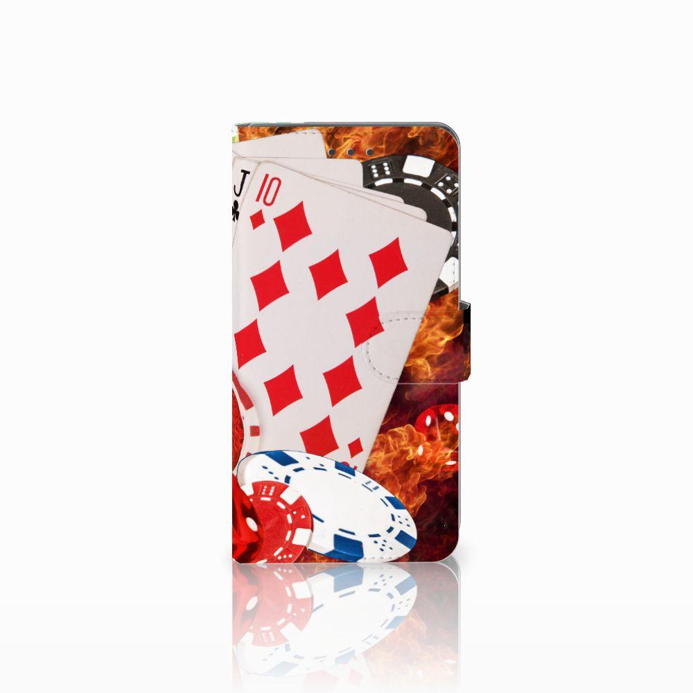 Huawei Mate 8 Uniek Boekhoesje Casino