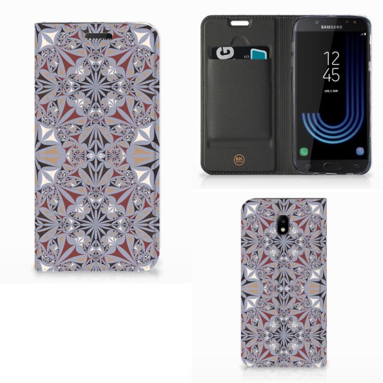 Samsung Galaxy J5 2017 Standcase Flower Tiles