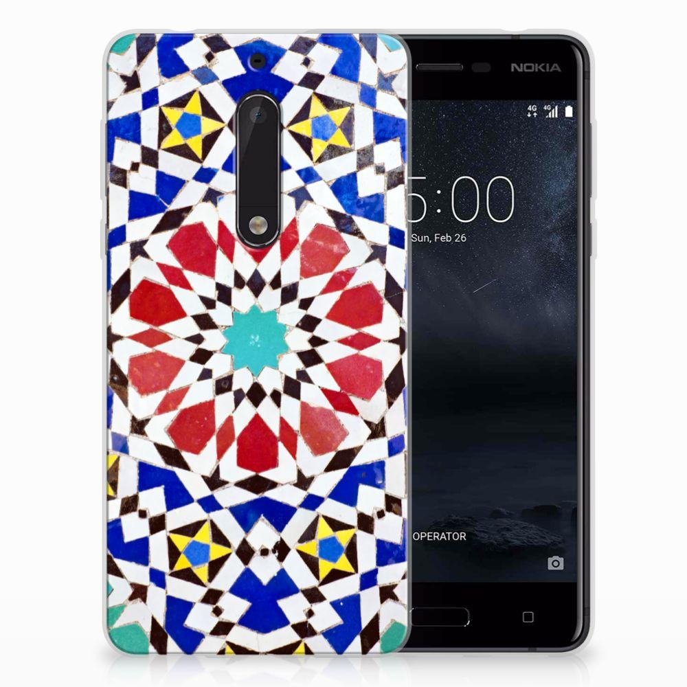 Nokia 5 TPU Hoesje Design Mozaïek