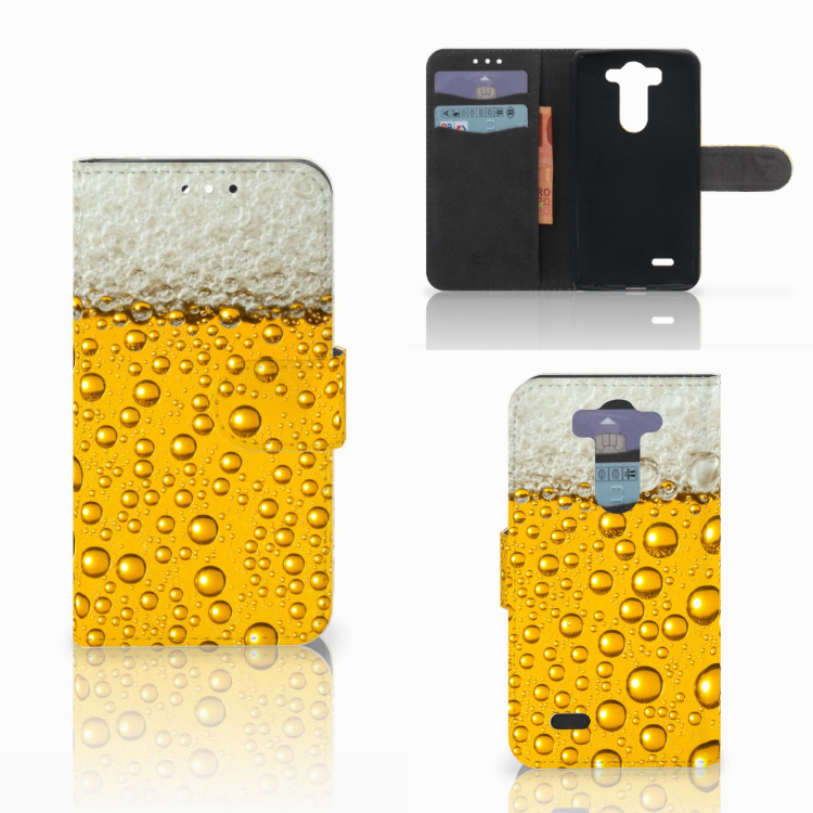 LG G3 S Book Cover Bier