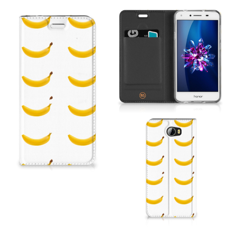 Huawei Y5 2   Y6 Compact Flip Style Cover Banana