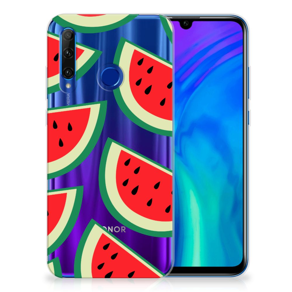 Honor 20 Lite Siliconen Case Watermelons