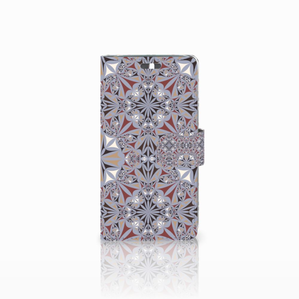 Huawei Y625 Boekhoesje Design Flower Tiles