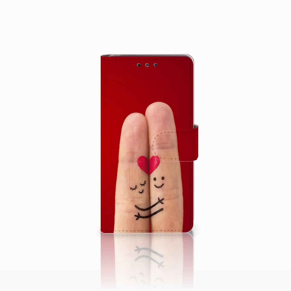 LG Bello 2 Uniek Boekhoesje Liefde
