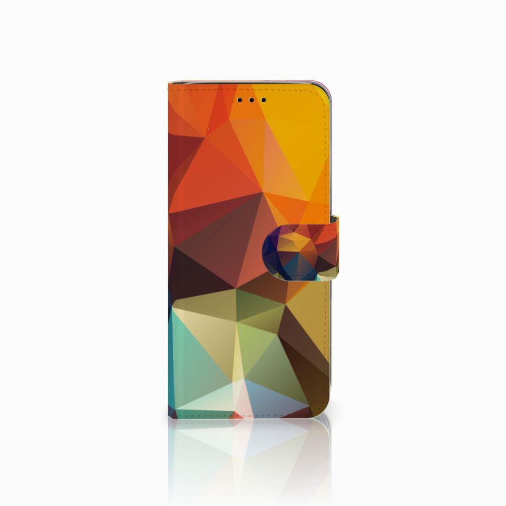Samsung Galaxy A6 2018 Bookcase Polygon Color