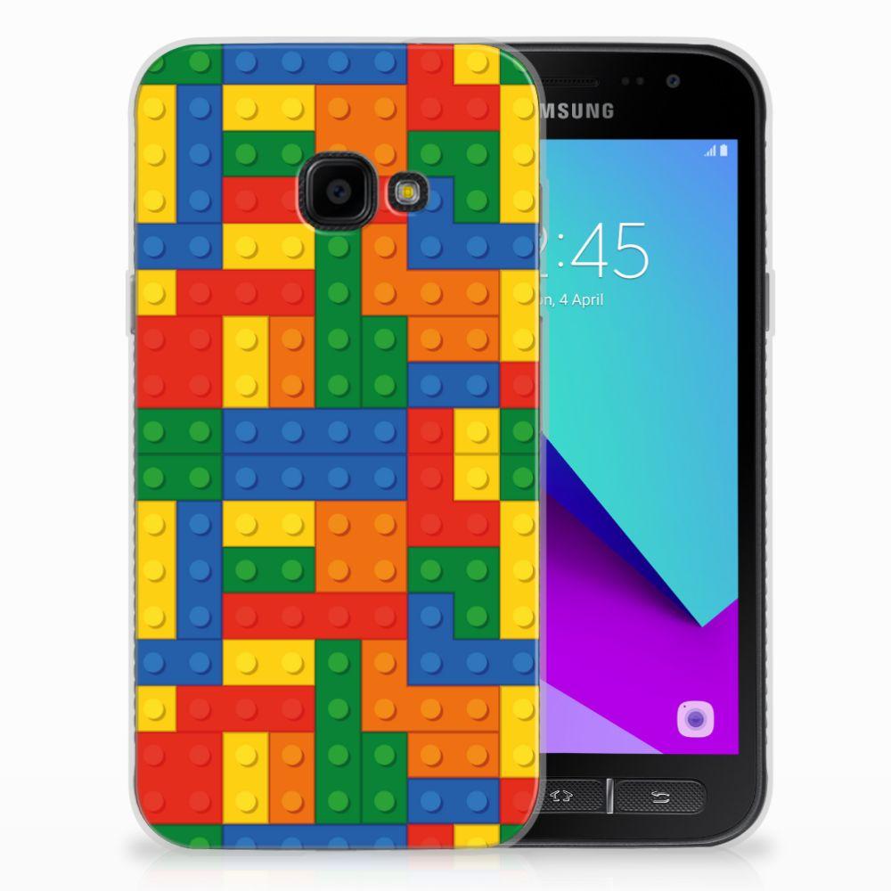 Samsung Galaxy Xcover 4 TPU Hoesje Blokken