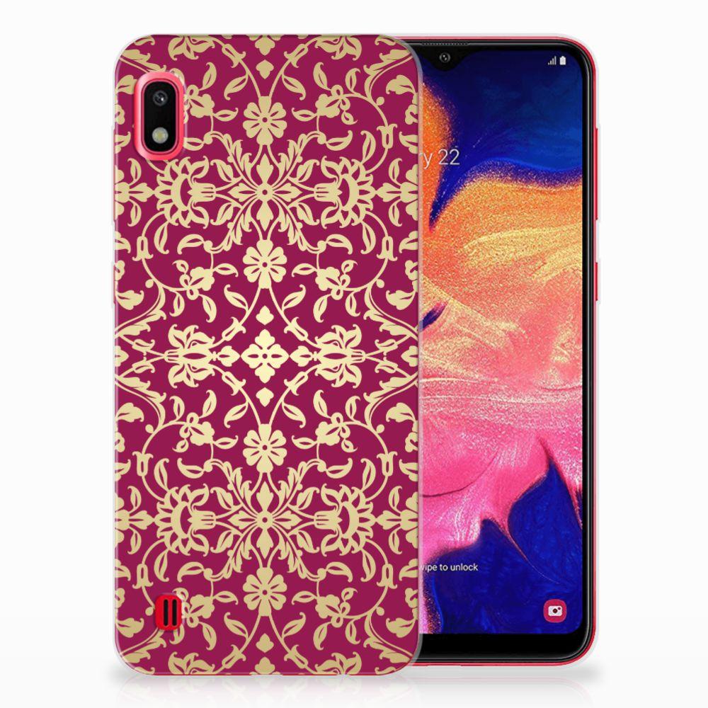 Siliconen Hoesje Samsung Galaxy A10 Barok Pink