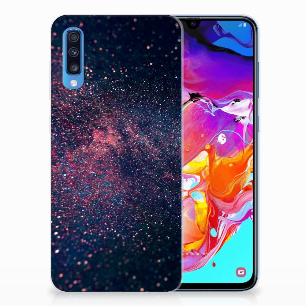 Samsung Galaxy A70 TPU Hoesje Stars
