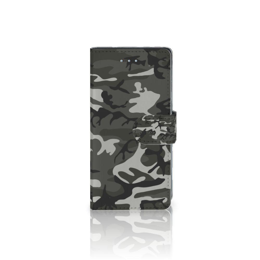 LG Nexus 5X Uniek Boekhoesje Army Light