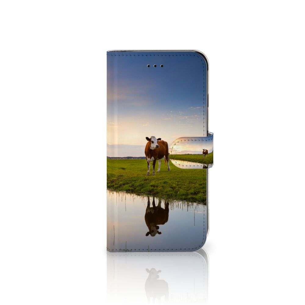 Apple iPhone 6 Plus   6s Plus Boekhoesje Design Koe