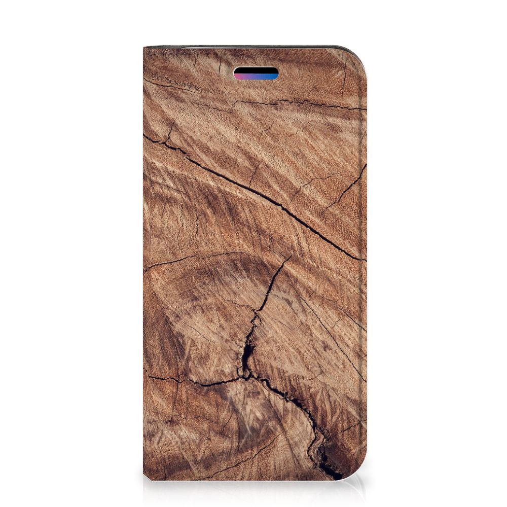 Apple iPhone X | Xs Book Wallet Case Tree Trunk