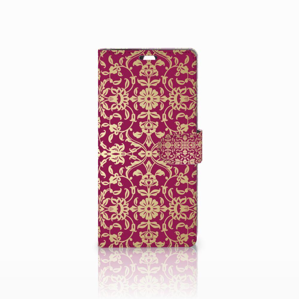 Sony Xperia C5 Ultra Boekhoesje Design Barok Pink