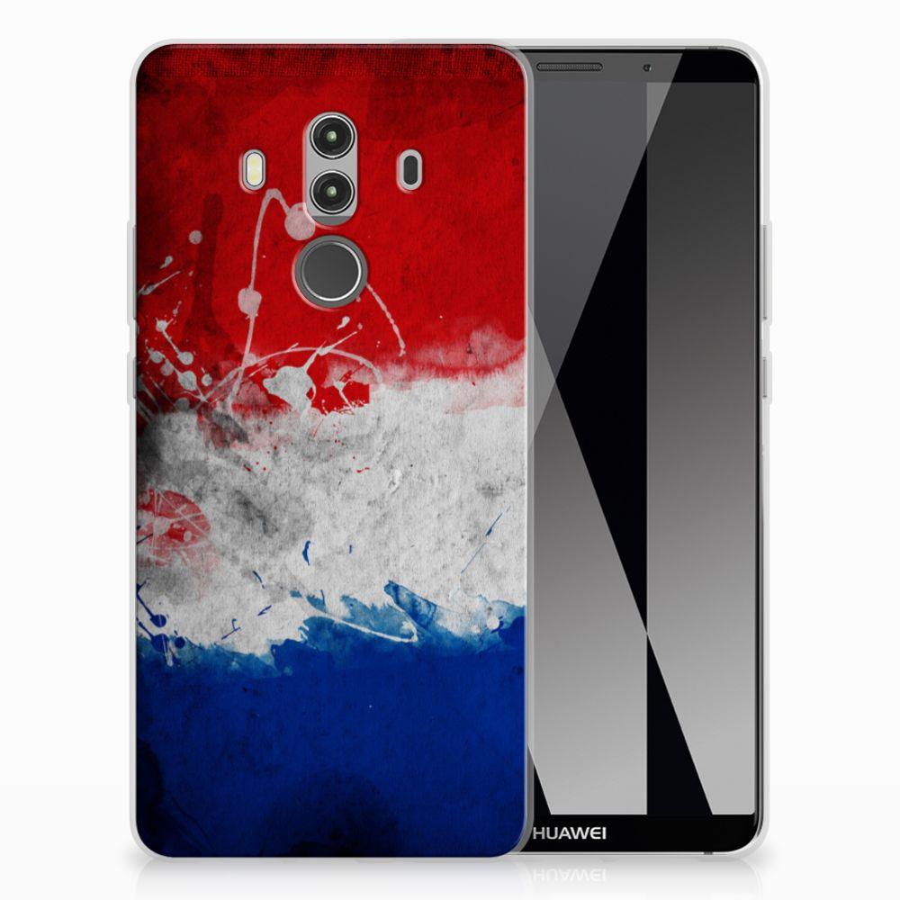 Huawei Mate 10 Pro Hoesje Nederlandse Vlag