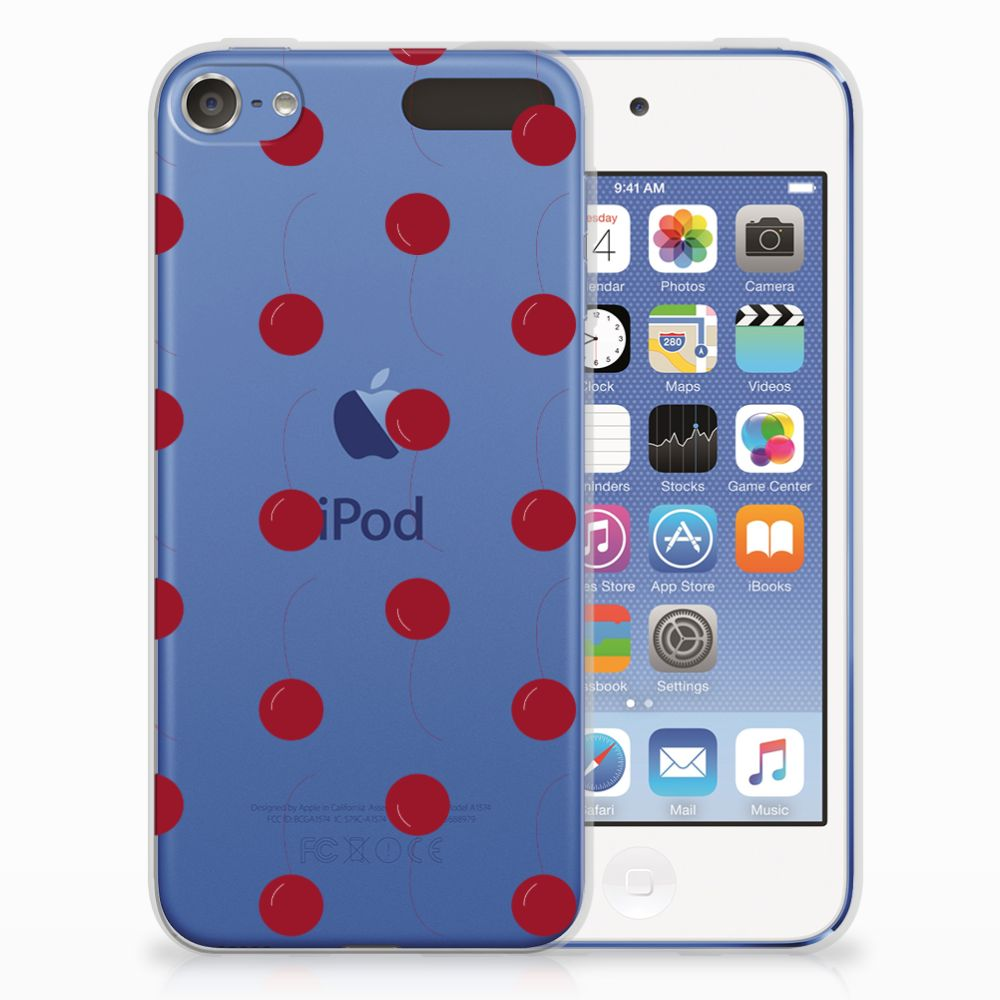 Apple iPod Touch 5 | 6 Siliconen Case Cherries