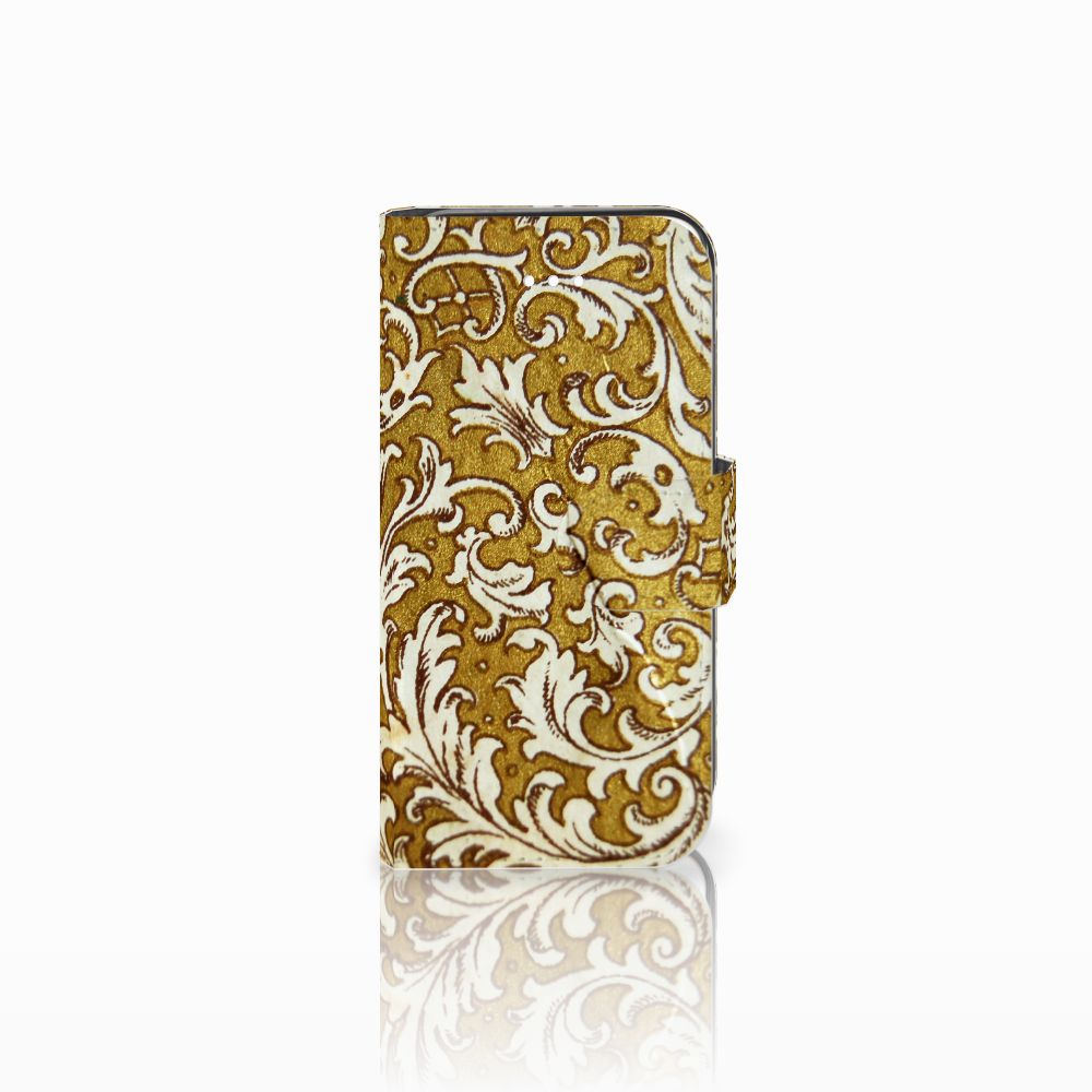 Apple iPhone 5 | 5s | SE Boekhoesje Design Barok Goud