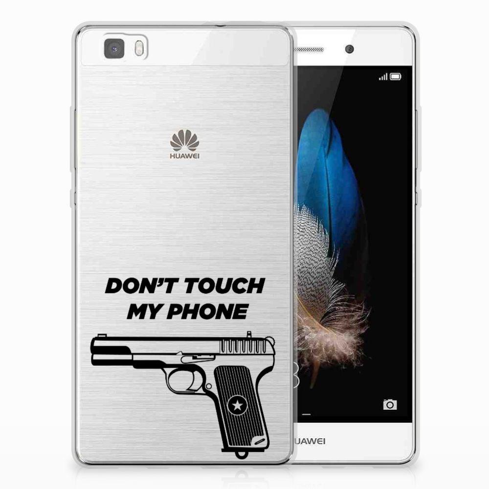 Huawei Ascend P8 Lite Uniek TPU Hoesje Pistol DTMP