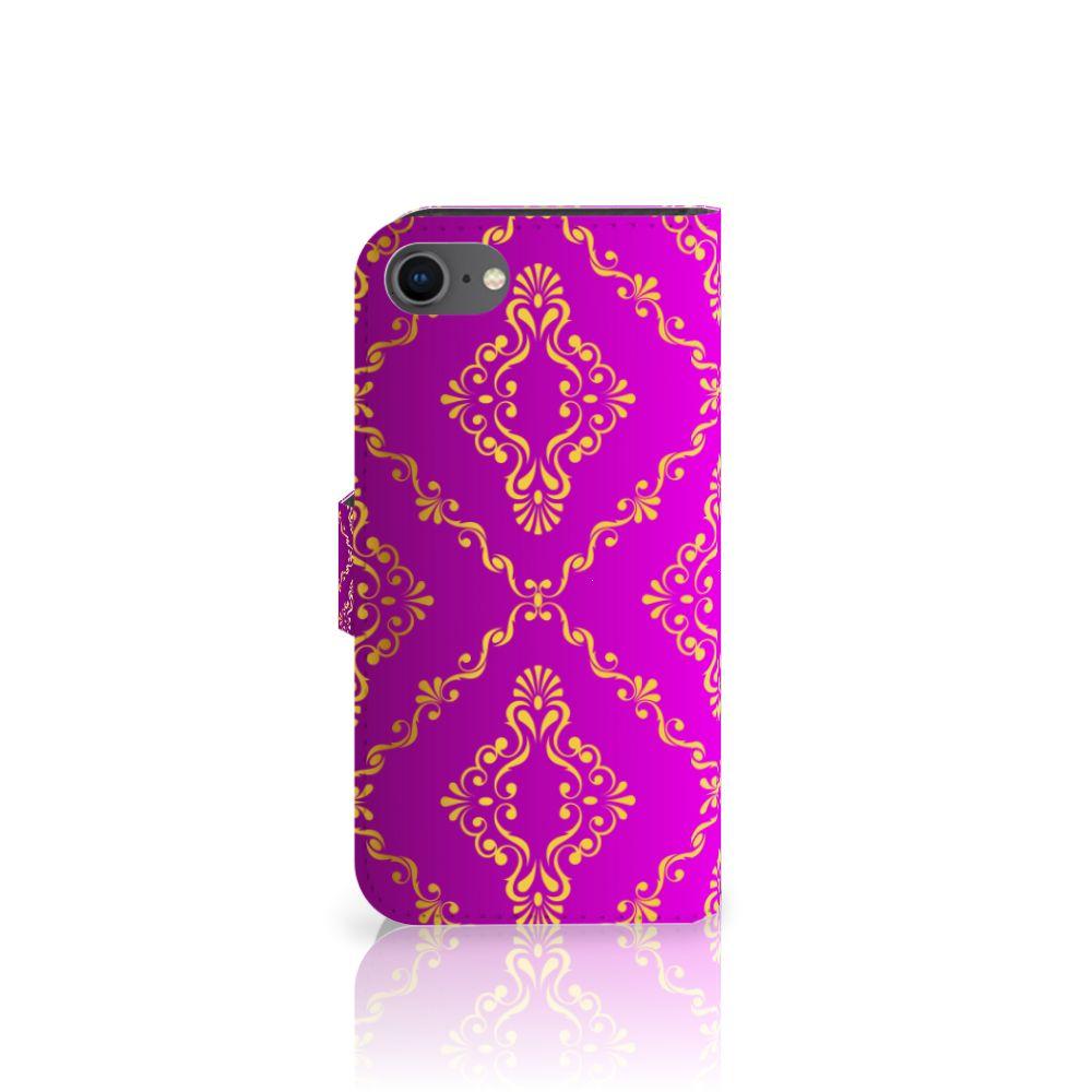 Wallet Case Apple iPhone 7   8 Barok Roze