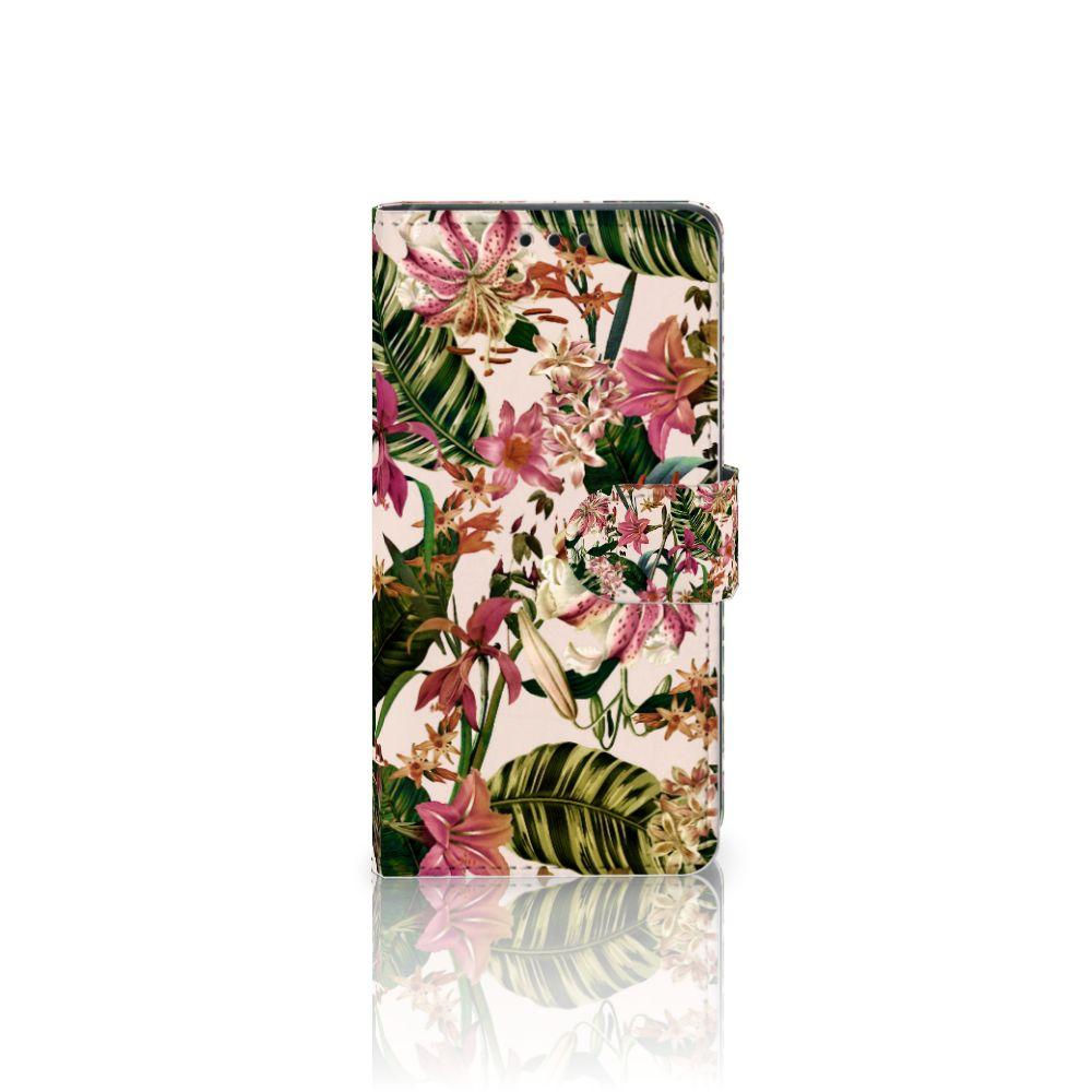 Sony Xperia Z5 | Z5 Dual Uniek Boekhoesje Flowers